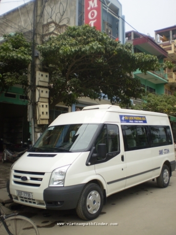 Hire a van Nha trang - Saigon (1Way/ 1day)